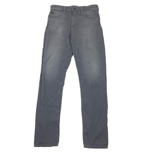 AG Adriano Goldschmied High Rise Straight Jeans 25